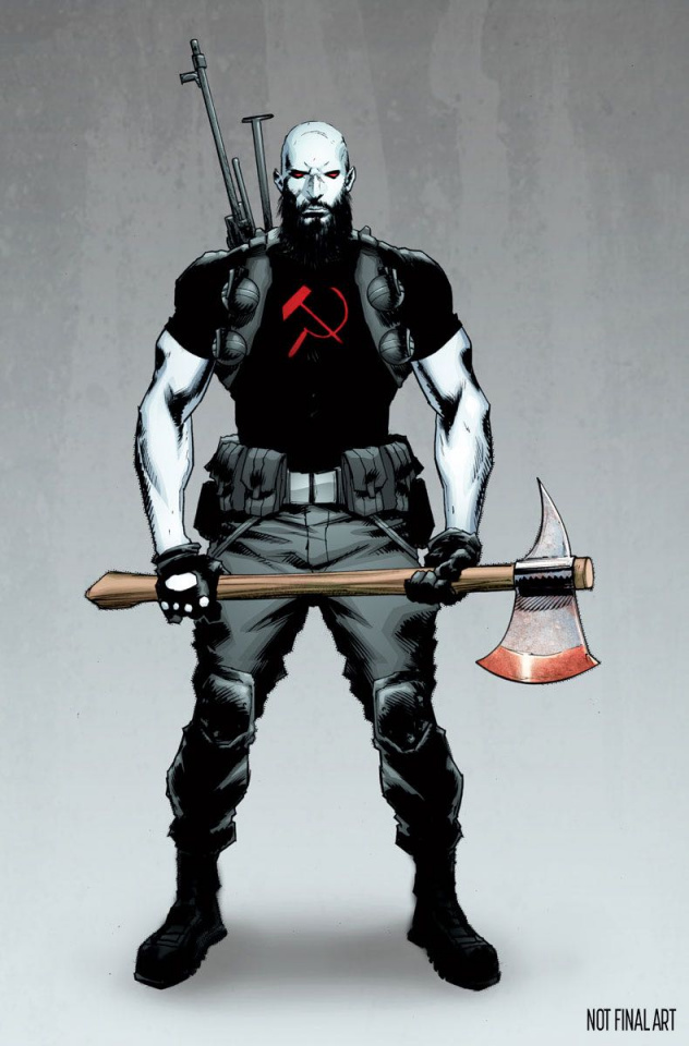 Divinity III: Komandar Bloodshot (10 Copy Cover)