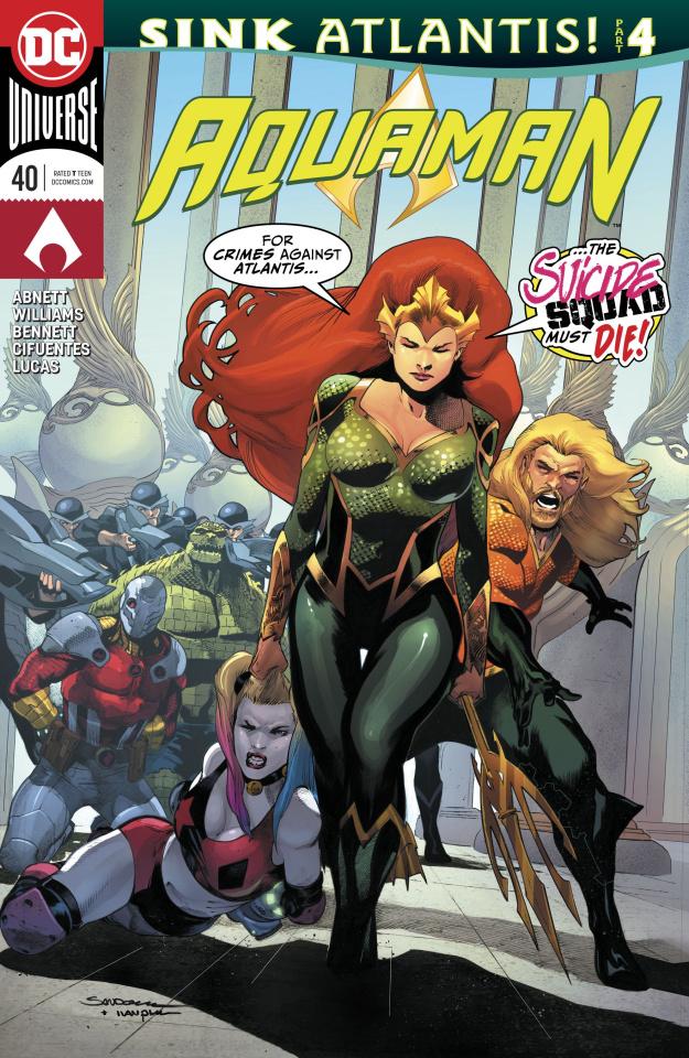 Aquaman #40: Sink Atlantis