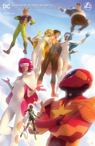 The Legion of Super Heroes #6 (Card Stock Alex Garner Cover)
