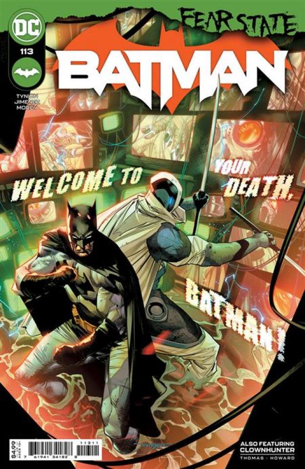 Batman #113 (Jorge Jimenez Cover)