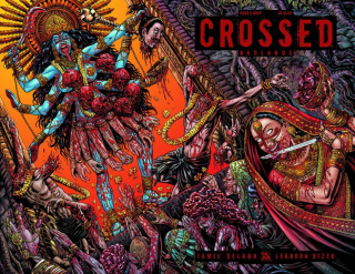 Crossed: Badlands #9 (Wrap Cover)