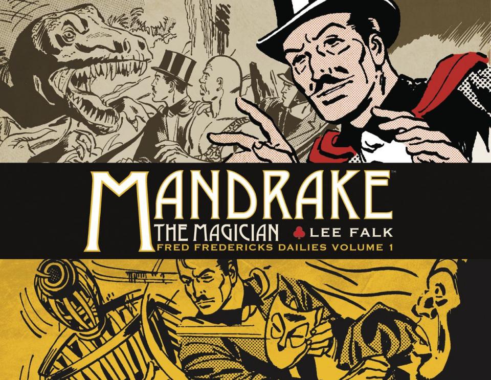 Mandrake, The Magician: Fred Fredericks Dailies Vol. 1