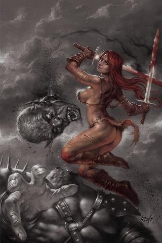 Red Sonja: Birth of the She-Devil #3 (25 Copy Parrilo Virgin Cover)