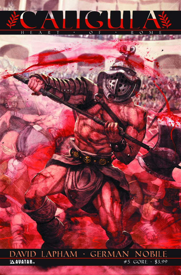 Caligula: Heart of Rome #5 (Gore Cover)
