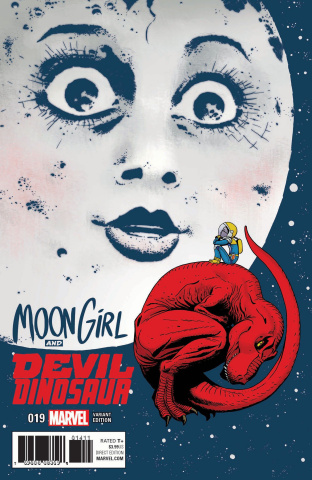 Moon Girl and Devil Dinosaur #19 (Martin Cover)