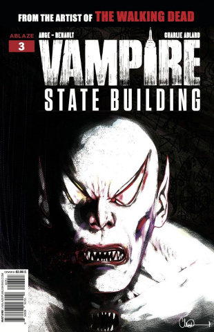 Vampire State Building #3 (10 Copy Glow In Dark Cover)