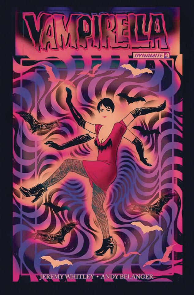 Vampirella #9 (Broxton Subscription Cover)
