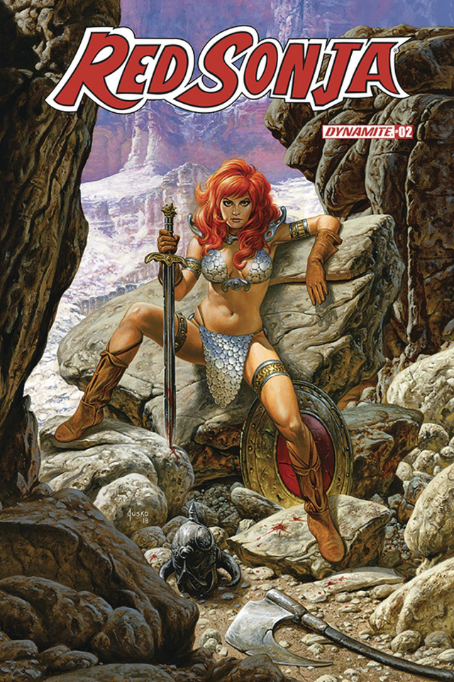 Red Sonja #2 (Jusko Cover)