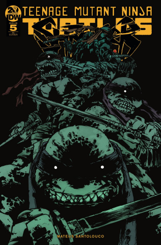 Teenage Mutant Ninja Turtles: Shredder in Hell #5 (10 Copy Campbell Cover)