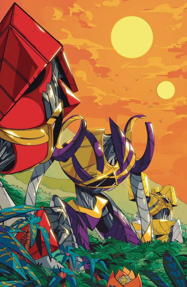 Power Rangers #8 (15 Copy Di Nicuolo Cover)