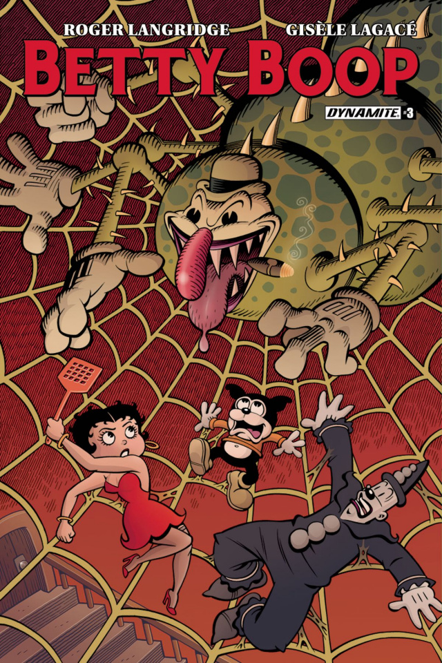Betty Boop #3 (Langridge Cover)