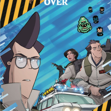 Ghostbusters: Crossing Over #8 (Schoening Cover)