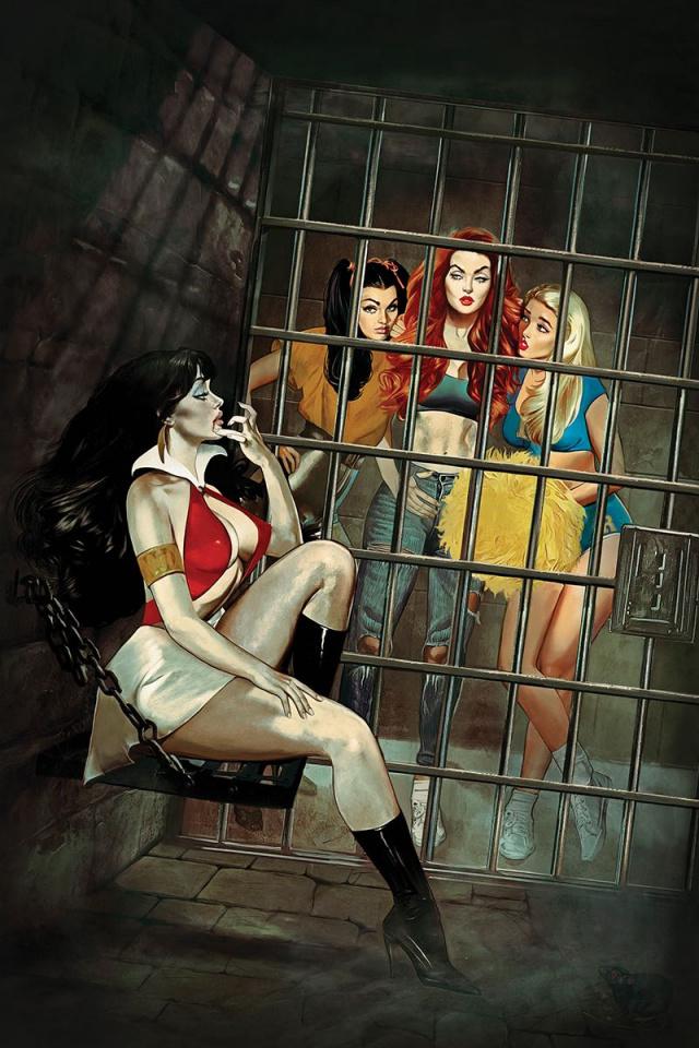 Red Sonja and Vampirella Meet Betty and Veronica #3 (Dalton Virgin Cover)