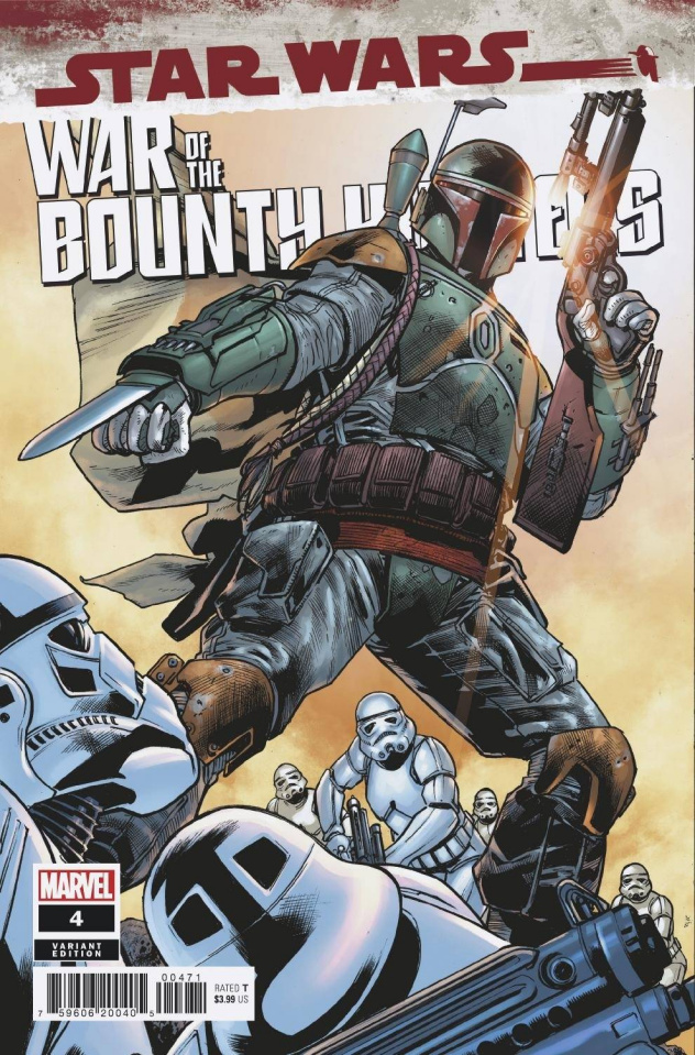Star Wars: War of the Bounty Hunters #4 (Hitch Cover)
