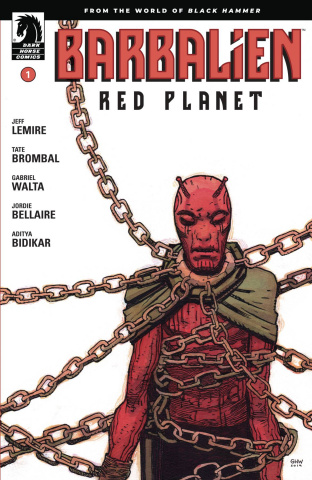 Barbalien: Red Planet #1 (Walta Cover)