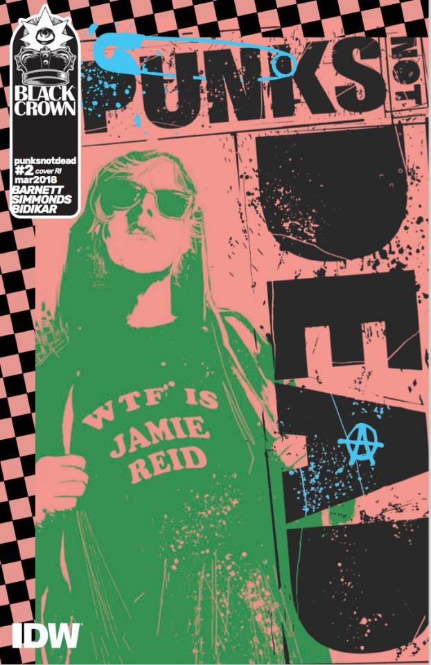 Punk's Not Dead #2 (10 Copy Cover)