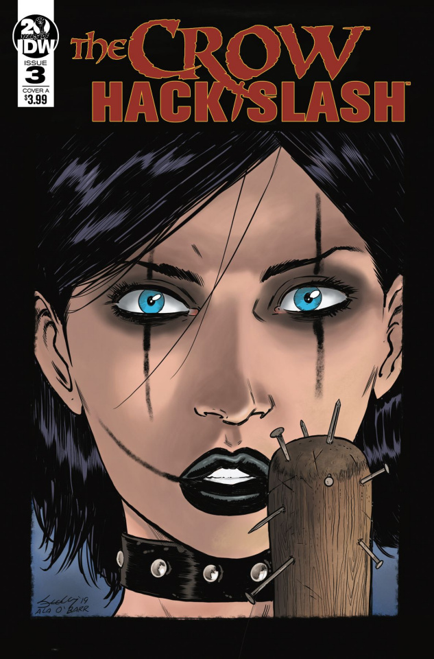 The Crow / Hack/Slash #3 (Seeley Cover)