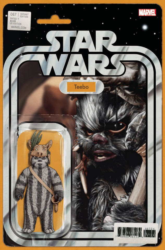 Star Wars #67 (Christopher Action Figure Cover)