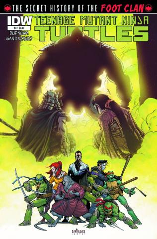 Teenage Mutant Ninja Turtles: The Secret History of the Foot Clan #4