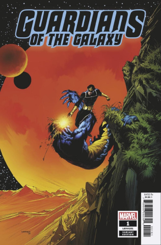 Guardians of the Galaxy #1 (Wrightson Hidden Gem Cover)