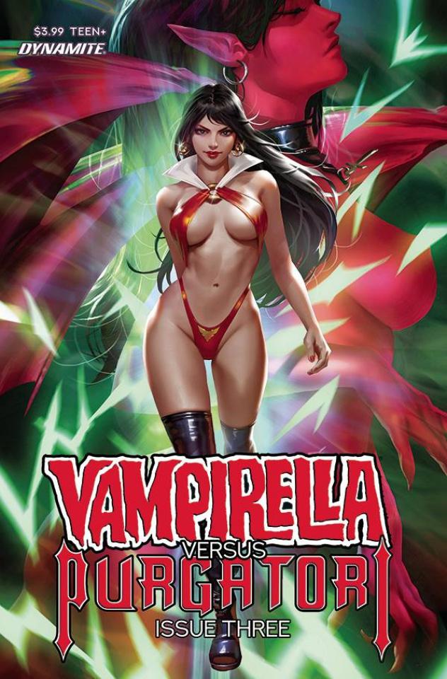 Vampirella vs. Purgatori #3 (Chew Cover)