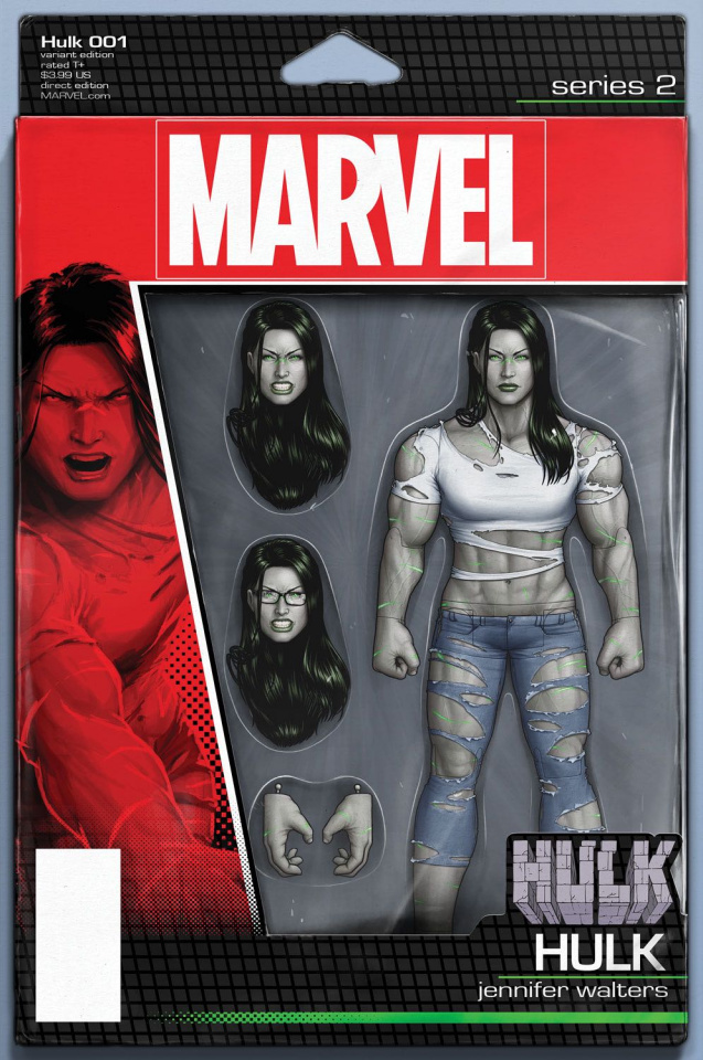 Hulk #1 (Christopher Action Figure Cover)