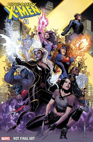 Uncanny X-Men #1 (Cheung Cover)