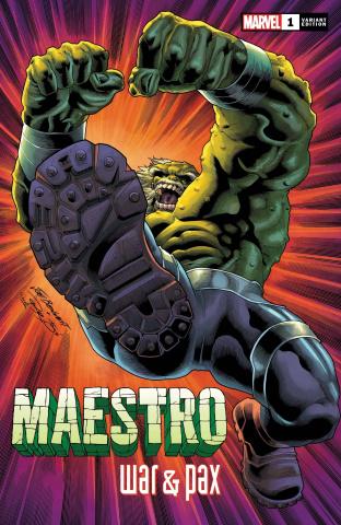 Maestro: War & Pax #1 (Bennett Cover)