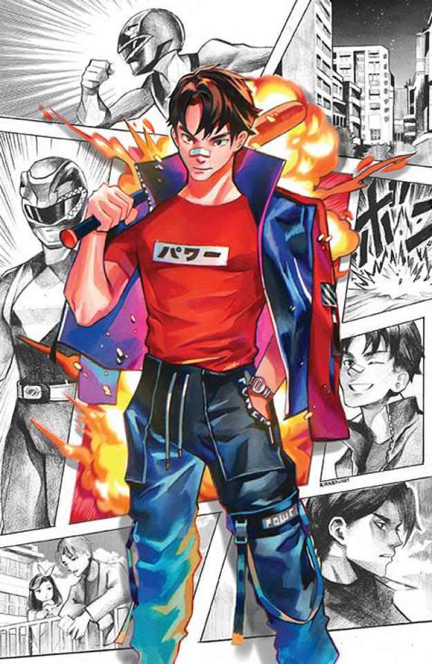 Power Rangers #11 (Unlockable Gonzales Cover)