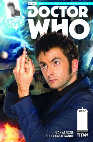 Doctor Who: New Adventures with the Tenth Doctor #2 (Photo Cover)