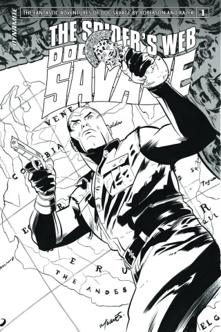 Doc Savage: The Spider's Web #1 (10 Copy Torres B&W Cover)