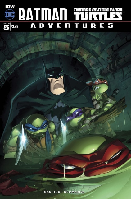 Batman / Teenage Mutant Ninja Turtles Adventures #5 (10 Copy Cover)