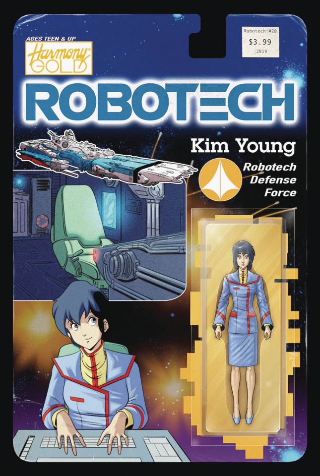 Robotech #20 (Action Figure Cover)