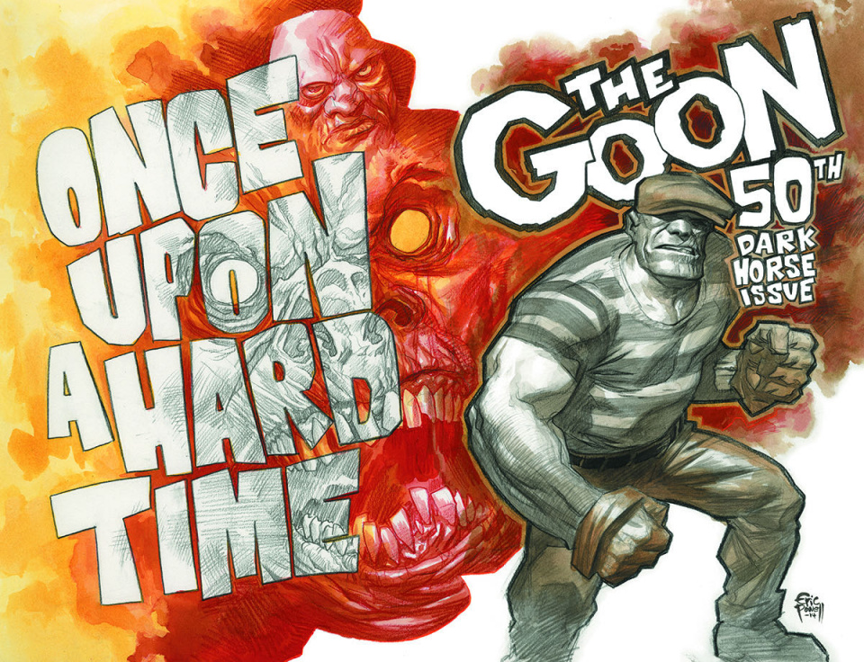 The Goon: Once Upon A Hard Time #1 (Signed Powell Cover)