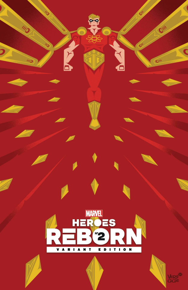 Heroes Reborn #2 (Veregge Cover)