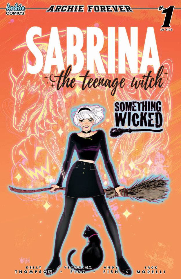 Sabrina: Something Wicked #1 (Fish Cover)
