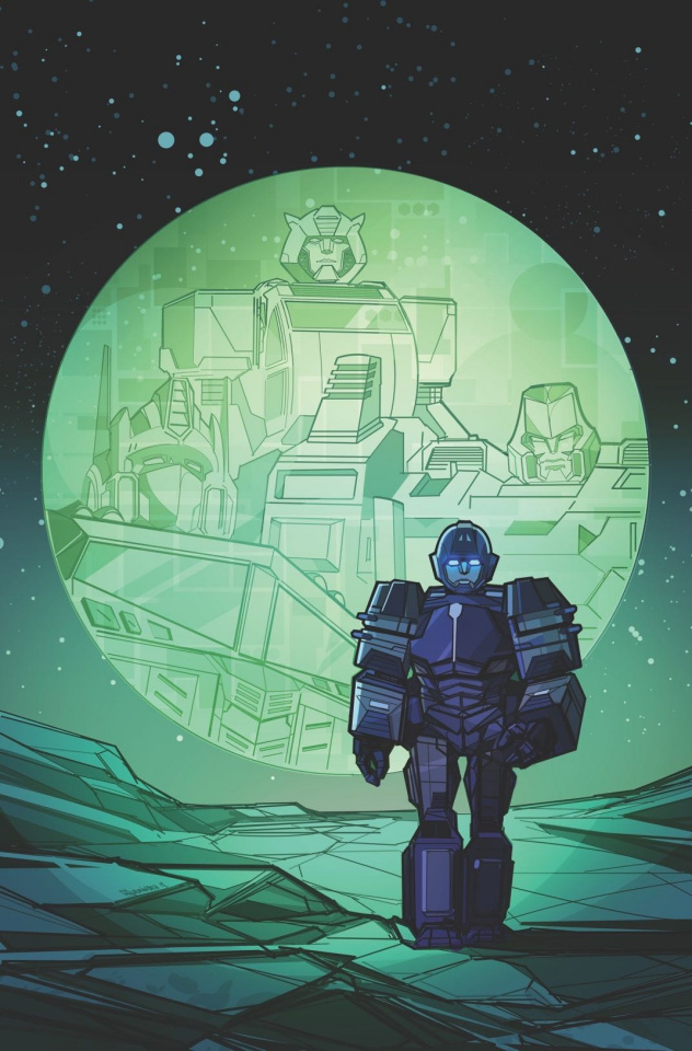 The Transformers #1 (Hernandez Cover)