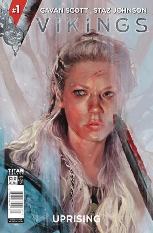 Vikings: Uprising #1 (Caranfa Cover)