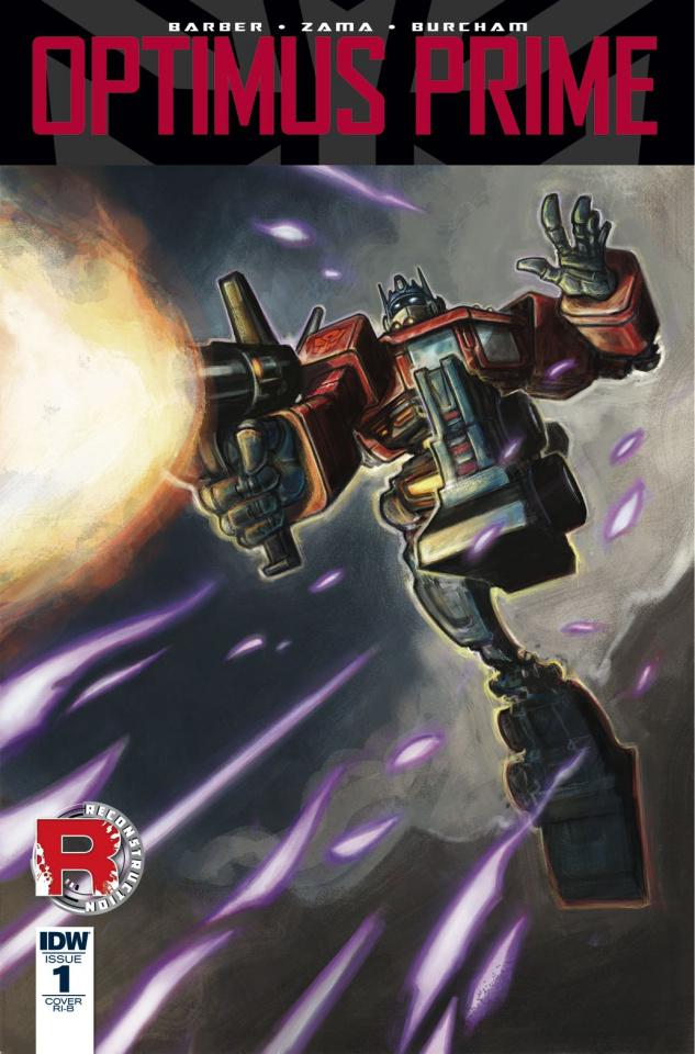 Optimus Prime #1 (25 Copy Cover)