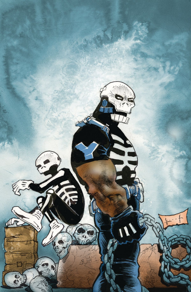 Skulldigger + Skeleton Boy #5 (Kieth Cover)