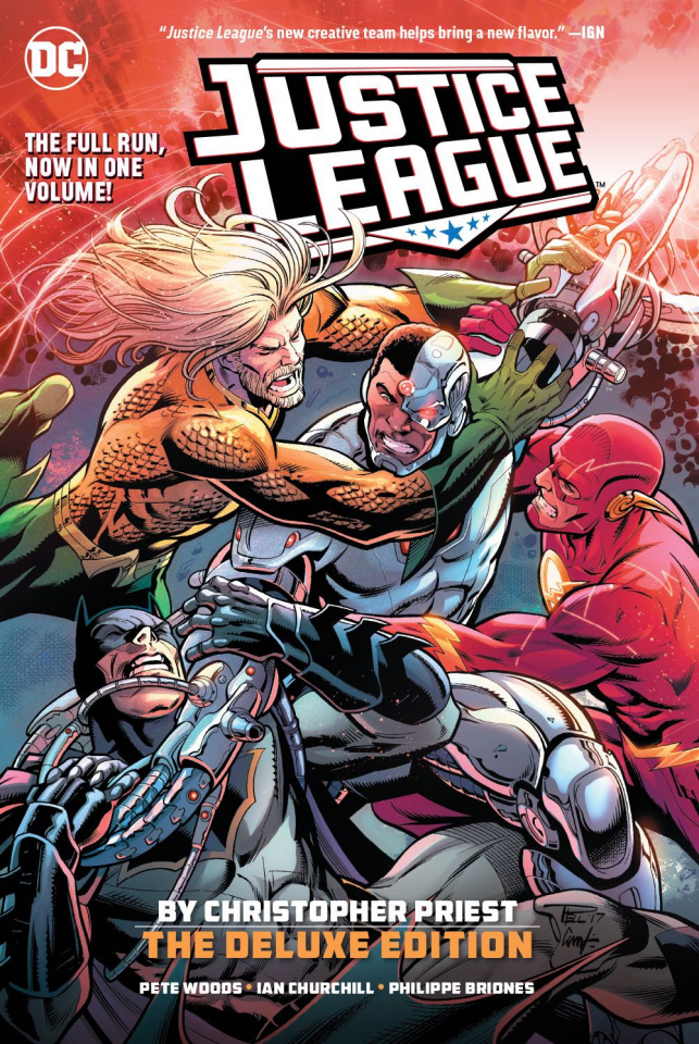 Justice League by Christopher Priest (The Deluxe Edition)