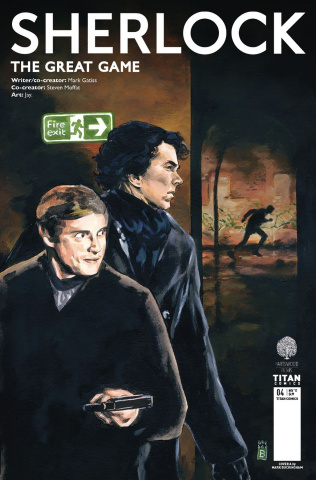 Sherlock: The Great Game #4 (Buckingham Cover)