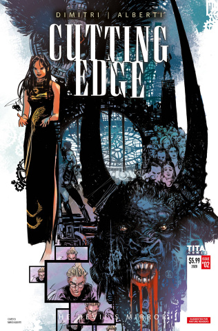 Cutting Edge: The Devil's Mirror #2 (Alberti Cover)