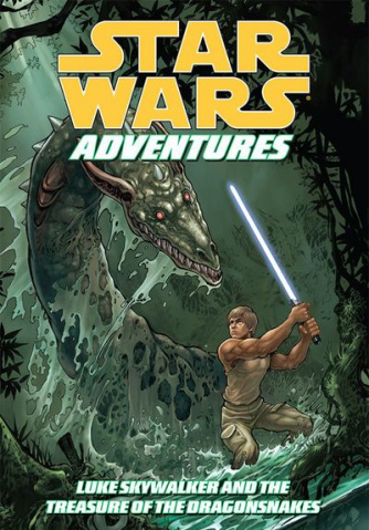 Star Wars Adventures Vol. 3: Luke Skywalker and the Treasure of the Dragonsnakes