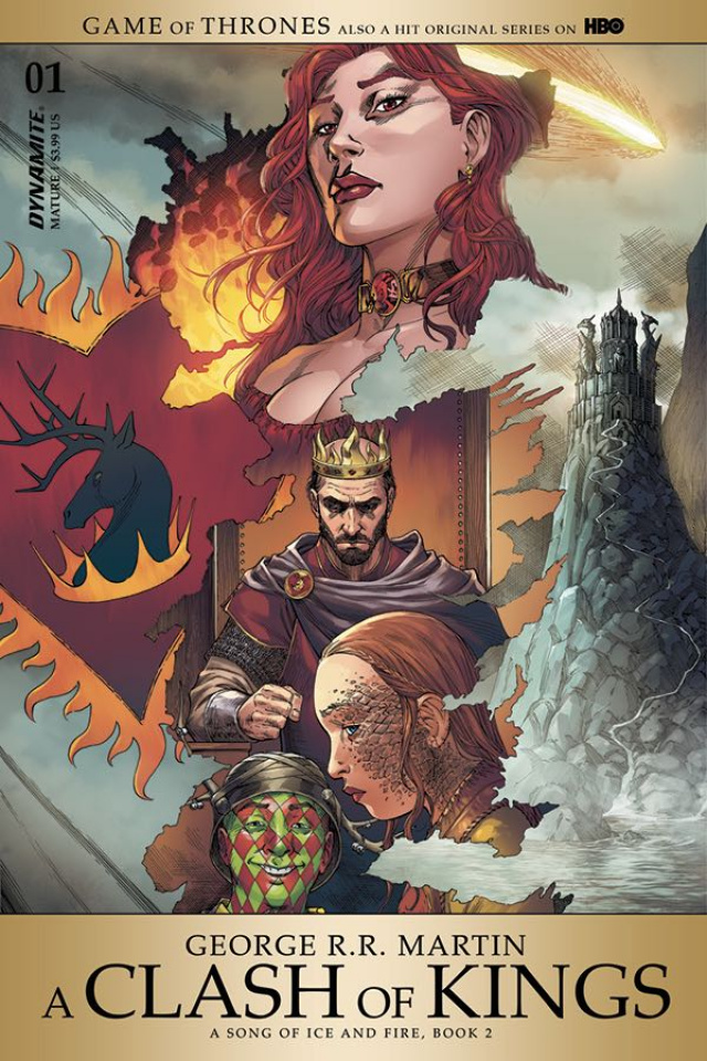 A Game of Thrones: A Clash of Kings #1 (Miller Cover)