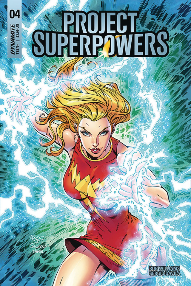 Project Superpowers #4 (Royle Cover)