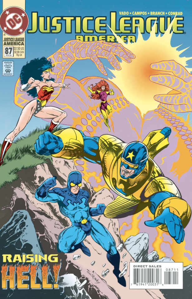Wonder Woman and The Justice League of America Vol. 2