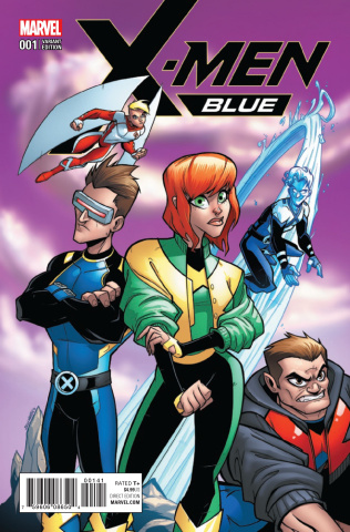 X-Men: Blue #1 (Martin Cover)