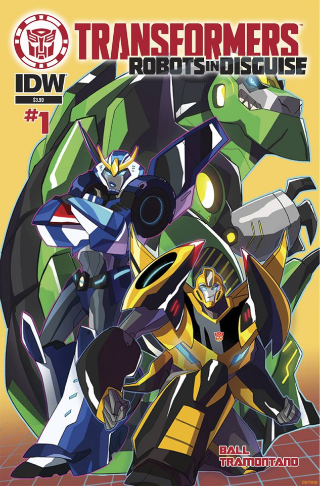 The Transformers: Robots in Disguise #1