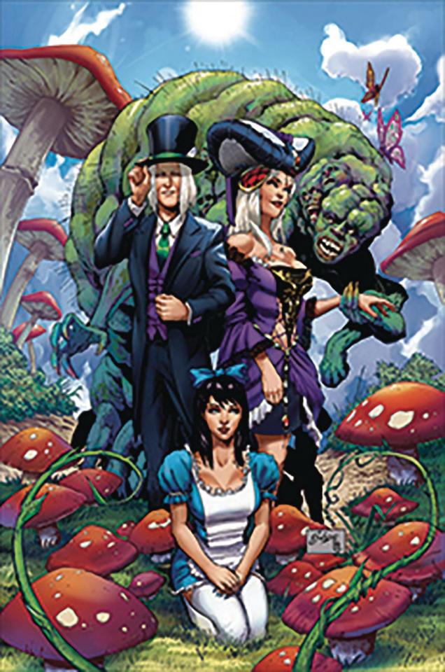 Revenge of Wonderland #1 (Salazar Cover)
